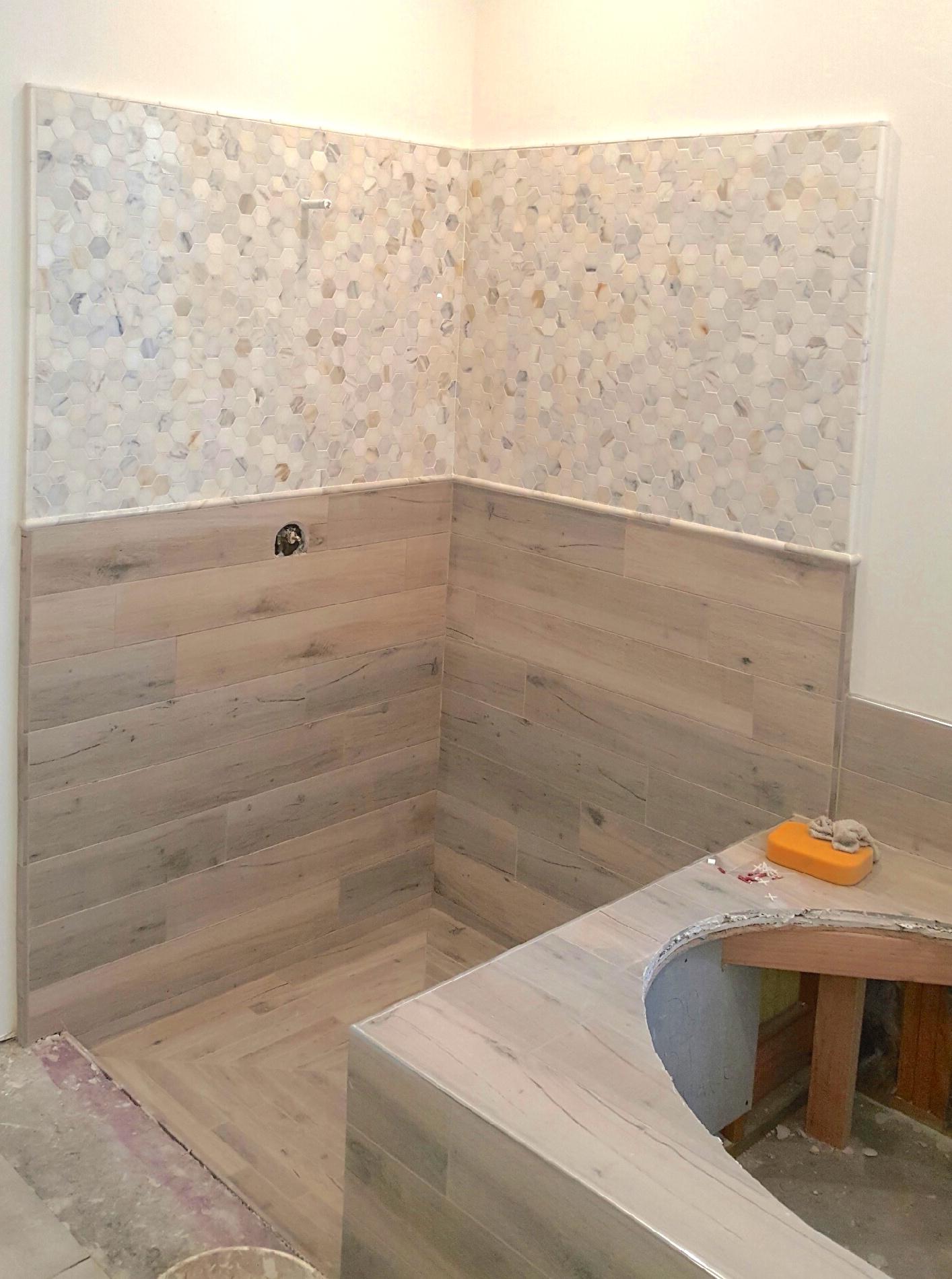 Fullsize Of Wood Tile Shower