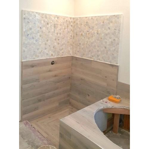 Medium Crop Of Wood Tile Shower