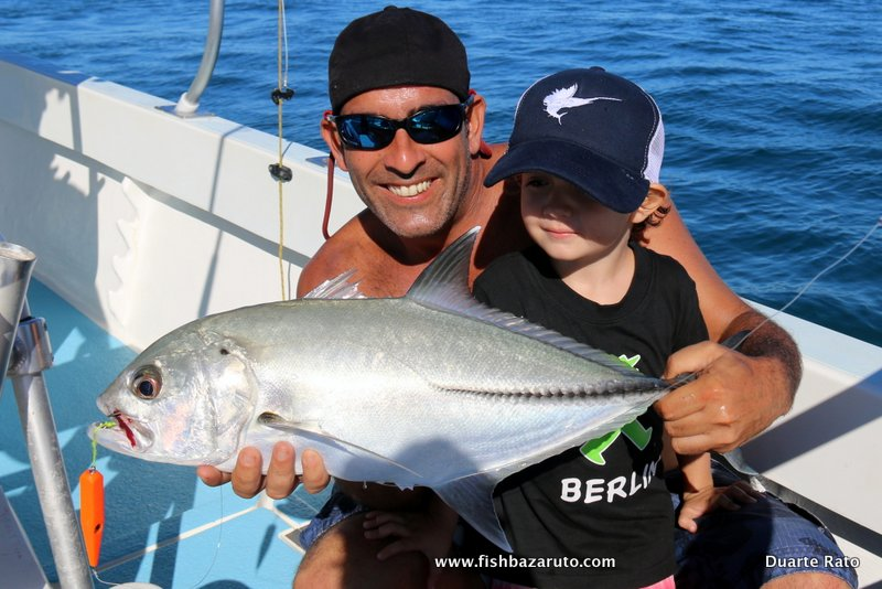 BAZARUTO – LIGHT TACKLE FUN & DUARTE JNR. FIRST DAY OUT
