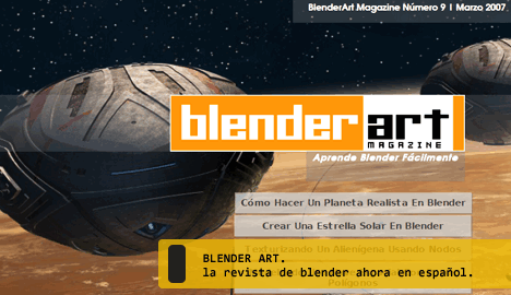 Revistas Blender Art en español