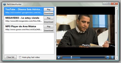 Descargar archivos de audio y video de sitios como Youtube y Megavideo nunca había sido tan fácil.