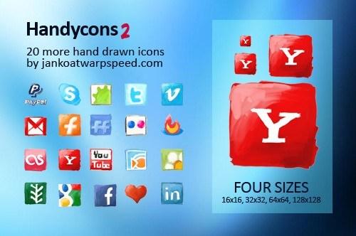 Iconos hechos a mano versión 2