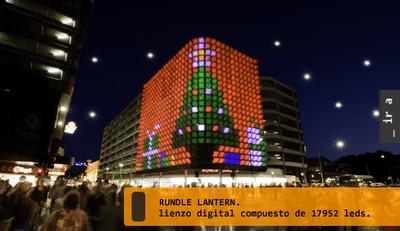 Edificio de LEDs linterna Rundle