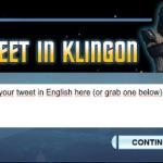 TweetInKlingon1