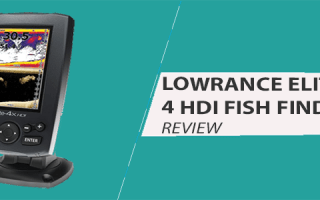 Lowrance Elite 4 HDI Review