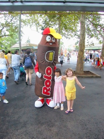 Rolo at Hershey Park