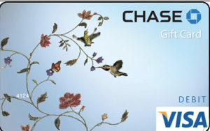Chase Bank Gift Card