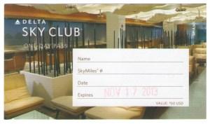 Delta-Skyclub Pass