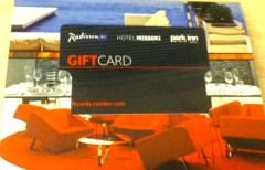 Radisson Gift Card