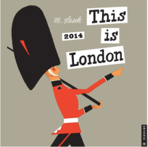 This is London 2014 Calendar