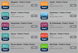 Fodor's 2014 Travel Guides Free on iTunes