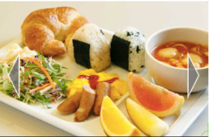Japanese Breakfast at Choice Hotel