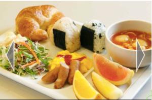 Japanese Breakfast at Choice Hotel