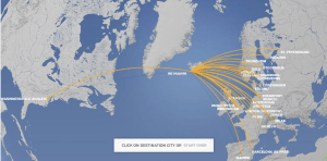 Where can you Fly on Icelandair?