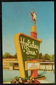 1960's Era Holiday Inn
