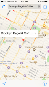 Earn Frequent Flyer Miles at Brooklyn Bagels and Coffee in Chelsea