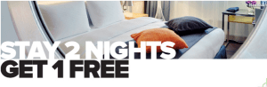 "Club Carlson Used to offer  ""Stay 2 Nights, Get 2 Free."