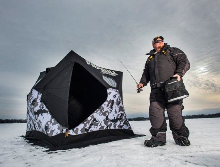 Heat humidity cause ice fishing mental relapse fishing for Brian s fishing supply