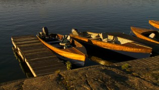 Chaudiere offers classic boats to their guests.