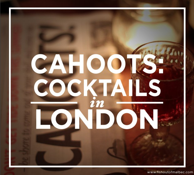 Cahoots London