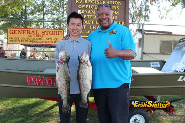 Allen Vue Captures SMUD Trout Derby With 6.56 Lb. Rainbow