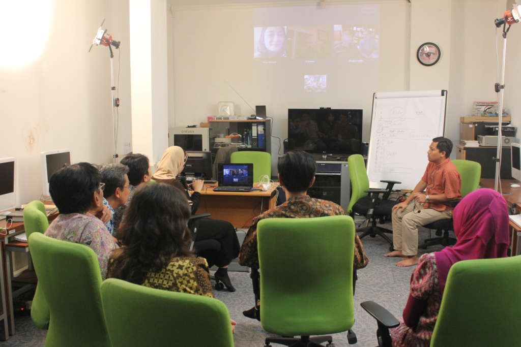 Video Call dengan Ohio University