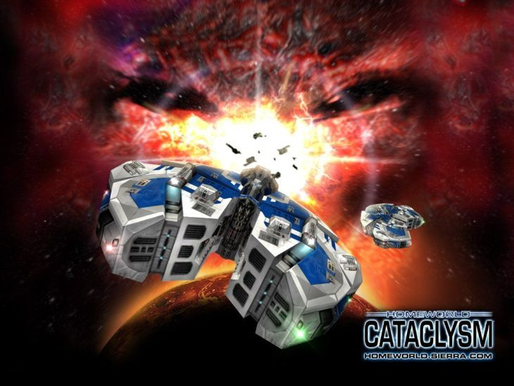 Homeworld Cataclysm Box Cover Art