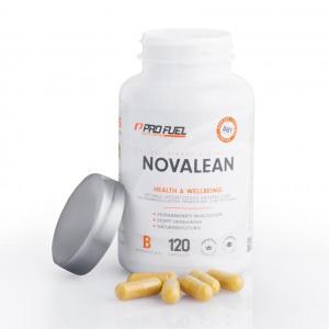 Profuel Novalean. das diätisches Mittel. Hilft bei der Diät. Beugt Müdigkeit während der Diät vor. Wach und konzentriert während Diät.