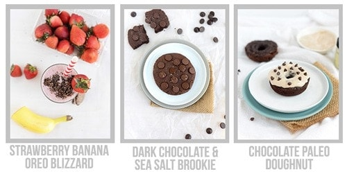 34 Healthy Single-Serve Desserts e-Book by Lee Hersh, FitFoodieFinds.com