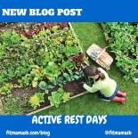 active rest days