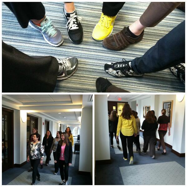 National Walking Day: Indoor Walk
