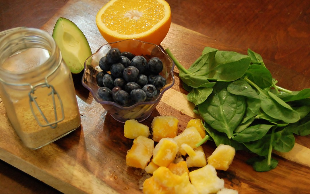 5-A-Day Smoothie – Using Five Different Fruits and Veggies