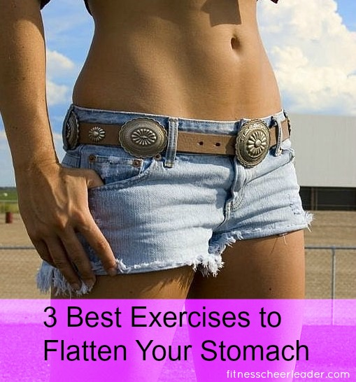 Best exercises to flatten your stomach