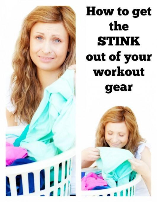 How to get the STINK out of your workout gear