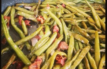 Bacon Sauteed Green Beans