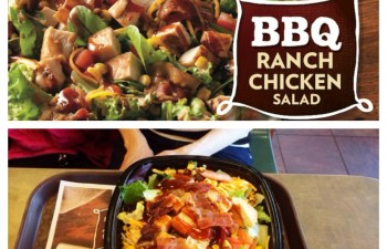 Summer Chat, Ladies Lunch and a Review of Wendy's New Salads #NewSaladCollection #Wendys