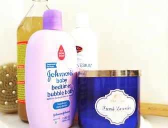Back Pain Relief-Part 1: Bath Time Must-Haves