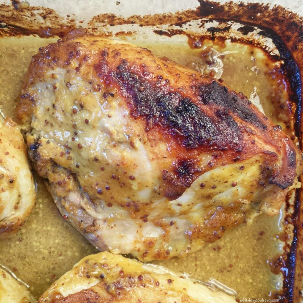 Baked Honey-Mustard Chicken