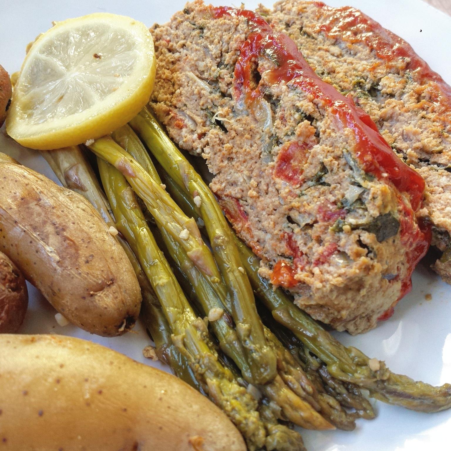 Slow Cooker Paleo Meatloaf & Potatoes