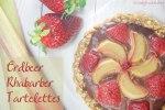 Erdbeer-Rhabarber-Tartelettes / Strawberry-Rhubarb-Tartelettes
