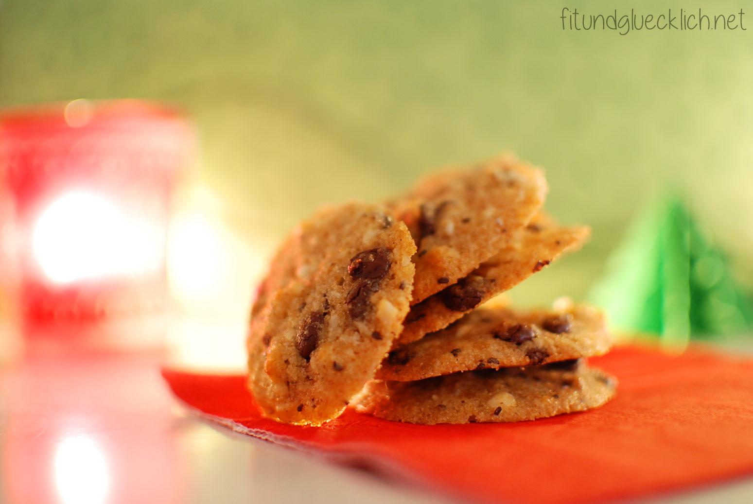 clean eating, recipe, rezept, backen, baking, cookies, kekse, weihnachten, christmas, cashews, kokos, coconut, chocolate, schokolade, fitundgluecklich.net