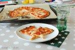 karfiol, teig, pizza, cauliflower, crust, cheese, käse, clean eating, fitundgluecklich.net