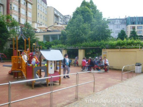 prag Spielplatz franziskanergarten