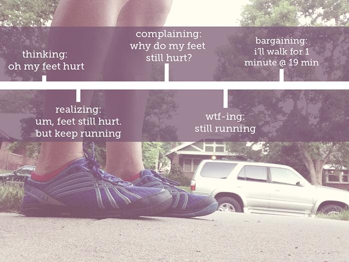 run timeline