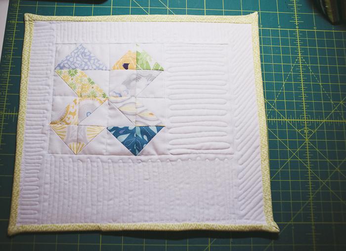 Double Z Mini Quilt
