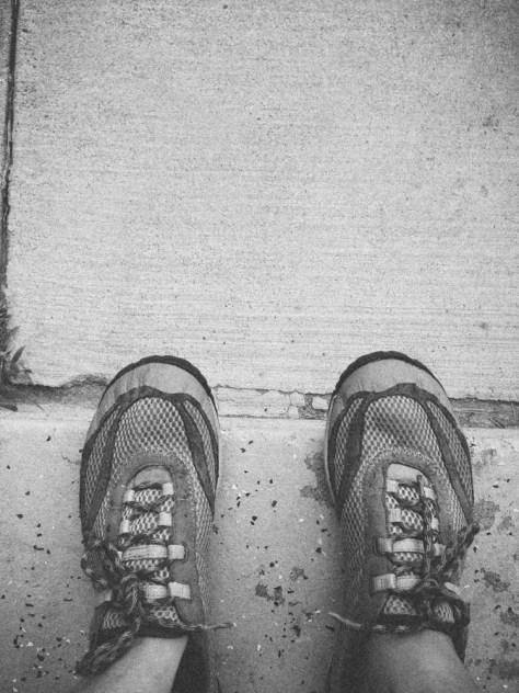 running feet again