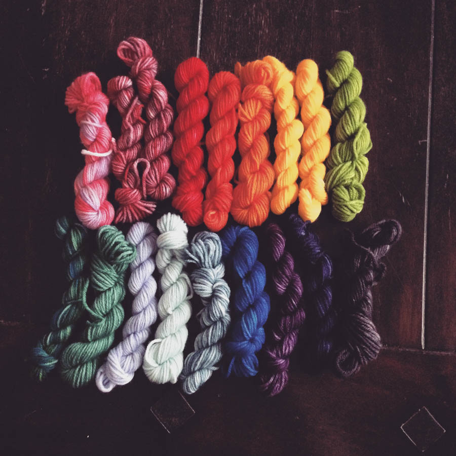 Hand Dyed Yarn-3