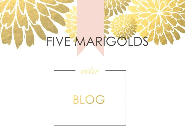 FIVE MARIGOLDS MAIN BLGO PAGE