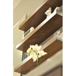 Small Crop Of Wood Shelves For Bathroom