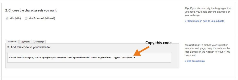 Copy Link Code